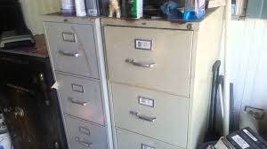 Used Fireproof File Cabinets 4 Drawer by Used Filing Cabinets For Sale Youtube