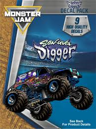 Monster Jam Son-Uva Digger Trucks Decal Pack | Truck Decals ... Toy Truck Videos For Children Bruder Backhoe Excavator Top Ten Legendary Monster Trucks That Left Huge Mark In Automotive Or Rent Used Bucket Boom Pssure Diggers And Grave Digger Stock Photos Intertional Derrick Kentucky For Sale Florida Sago Mini Android Apps On Google Play Cstruction 12 Volt Ride On Baby Drakes Whlist And Dumper Standing Idle A Building Site Rural Pennsylvania 1995 Ford Fseries Awd Single Axle Sale By