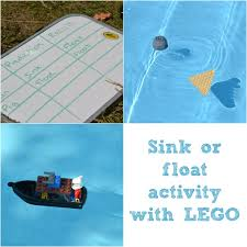 Materials Sink Or Float by Sink Or Float With Lego