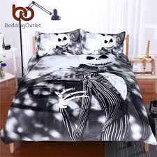online shop beddingoutlet black and white bedding set nightmare
