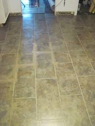 Installing Groutable Peel And Stick Tile by Our Old Abode Kitchen Floor Groutable Vinyl Tile