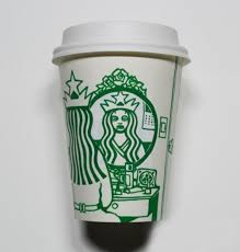 Pin By On Starbucks Cup Art