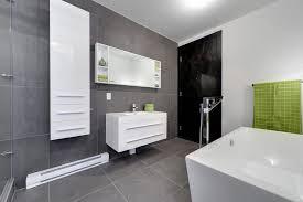 large format grey tile bathroom contemporary with grey bathroom