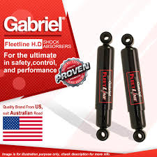 100 Truck Shock Absorbers 2 X Rear Gabriel HD For Nissan UD CLG CMA CMB