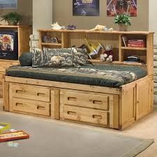 Trendwood Bunkhouse Twin Cheyenne Captain s Bed with Underdresser