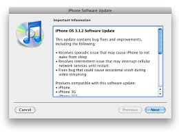 Apple Releases iPhone Firmware Update 3 1 2 Fixes Network Issues