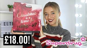 100 Studio 24 London SUPERDRUG ADVENT CALENDAR 2018 STUDIO LONDON