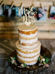 Romantic Rustic Barn Wedding Cake