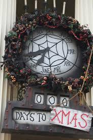 Nightmare Before Christmas Halloween Decorations Diy by Diy Nightmare Before Christmas Countdown Clock Nightmare Before
