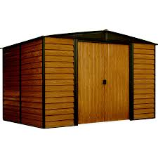 Gambrel Shed Plans 16x20 by Shop Metal Storage Sheds At Lowes Com