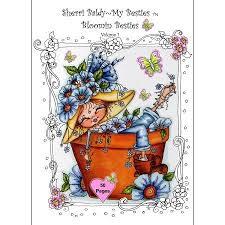 Sherri Baldy My Besties Bloomin Coloring Book Some Of Baldys Fan Favorites