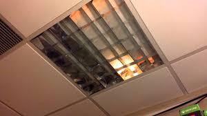 Ceiling Fan Light Flickers by Flickering Ceiling Lights Youtube