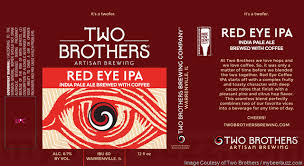 Two Brothers Adding Red Eye IPA