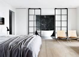 open bathroom concept for master bedroom maison