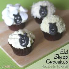 Eid Cupcakes Sheep Creative Ideas Tutorials