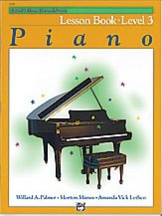Alfred's Basic Piano Course Lesson Book: Level 3 - Alfred Publishing