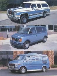 1985 Komfort Koach Conversion Van Truck Suburban Sales Brochure