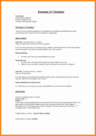 Resume Profile Sample Luxury Example 47 Professional Template