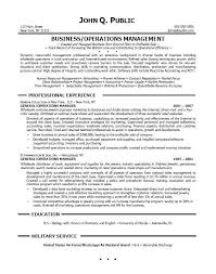 Example Project Manager Resume Objective