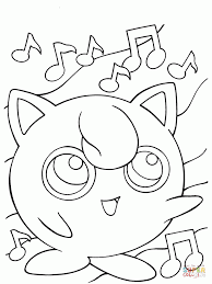 Windows Coloring Pokemon Pages Jigglypuff For Page