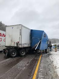 100 Cumberland Truck Equipment PHOTOS Jackknifes On I68 News Timesnewscom
