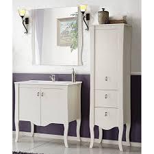landhaus badezimmer möbel set massivholz weiß elsa 56 b h t 140 x 1