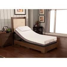 Split King Adjustable Bed Sheets by Sleep Zone Huntington 10 Inch Twin Xl Size Memory Foam Mattress