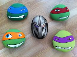 Ninja Turtle Decorations Ideas by Cool Easy Rock Painting Patterns Teenage Mutant Ninja Turtles