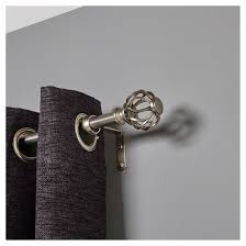 Target Curtain Rods Bronze by Loft By Umbra Cage Curtain Rod Gray 66 120
