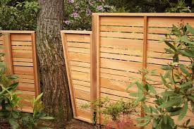 tree in the fence line we can customize our fence to suit your