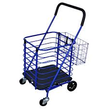 100 Truck Accessories Milwaukee Steel Grocery Cart In Blue With Accessory BasketSC34