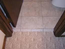 how to dress up carpet against tile ceramic tile advice forums