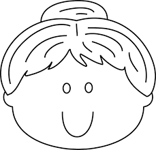 Smiley Face Coloring Pages Happy Printable Clipart Best