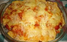 recette gratin de pâtes au chorizo et au jambon sec pas chère et
