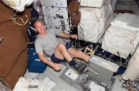 View Full SizeNASA Via Associated PressAstronaut Alan Poindexter Exercising On A Bicycle Ergometer The Space Shuttle Atlantis