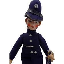 Police Officer Peg Wooden Doll Uniform Doll 12001200 Transprent