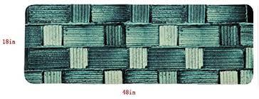läufer badezimmer matten set lang mikrofaser