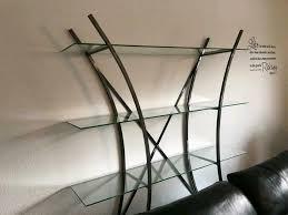 glasregal regal regal mit glasböden regal wohnzimmer