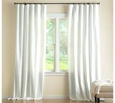 Pottery Barn Curtains Clearance Cotton Pole Pocket Drape C