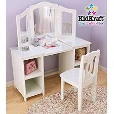 amazon com kidkraft deluxe vanity chair toy kitchen dining