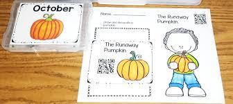 The Runaway Pumpkin by October Themed Resource Roundup Teaching Superkids