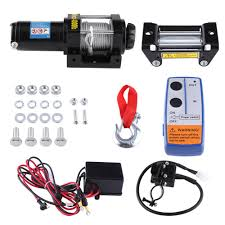 100 Truck And Winch Coupon Code Overseas Electric 4000lb Car Wire Recovery Towing Cables
