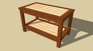 wood coffee table plans free video and photos madlonsbigbear com