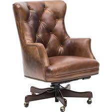 Executive Theodore Leather fice Chair Cognac Hooker