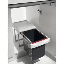 poubelle de cuisine coulissante monobac poubelle coulissante achat vente poubelle coulissante pas cher