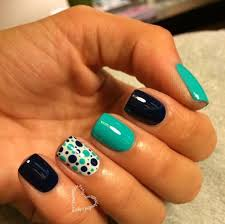 These Nails Are Also Great For Easter I Am Loving The Polka Dots
