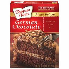 Duncan Hines Moist Deluxe German Chocolate Cake Mix Reviews