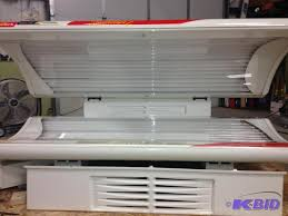 1991 cyber tech sundash sd 2 white tanning bed used tanning bed