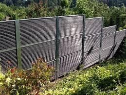 mur anti bruit exterieur 4 panneaux anti bruit clo201 acier