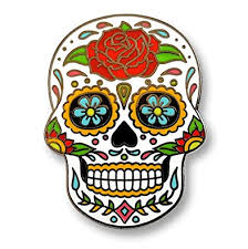 Easy Sugar Skull Day Of by Amazon Com Pinsanity Day Of The Dead Sugar Skull Lapel Pin Jewelry